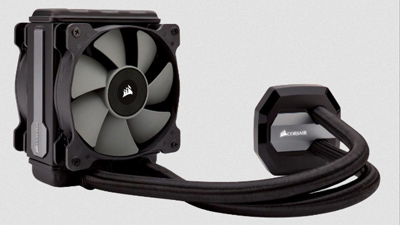 Corsair water cooling Hydro Series H80i V2 na cor preta