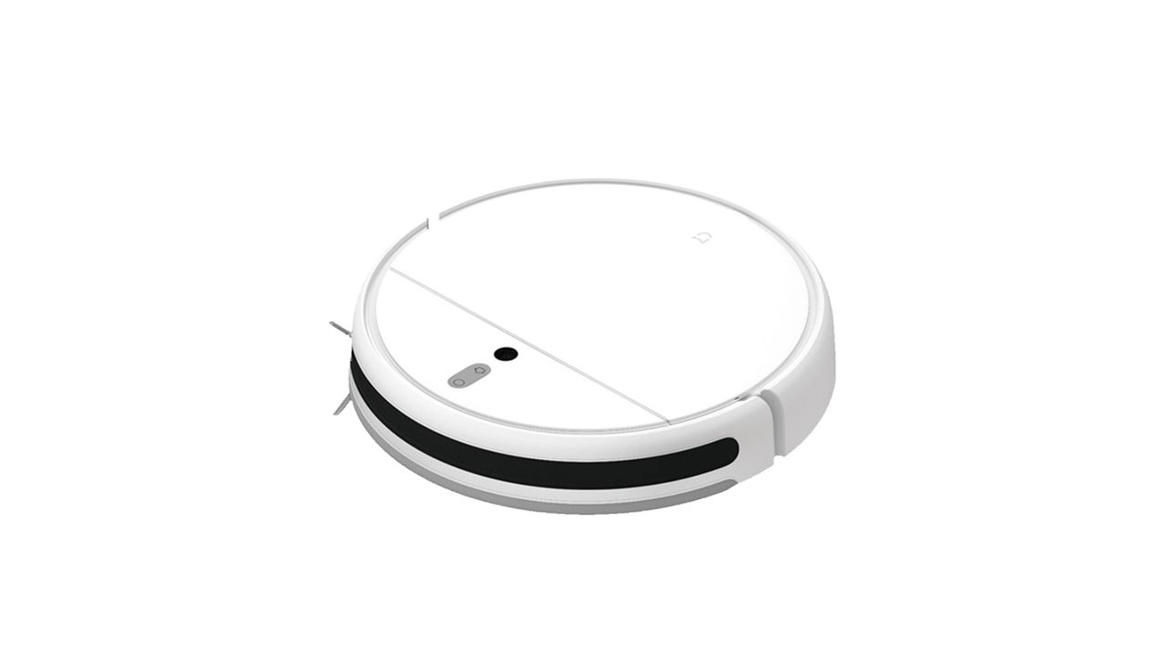 Xiaomi Mi Robot Vacuum MOP em fundo branco.