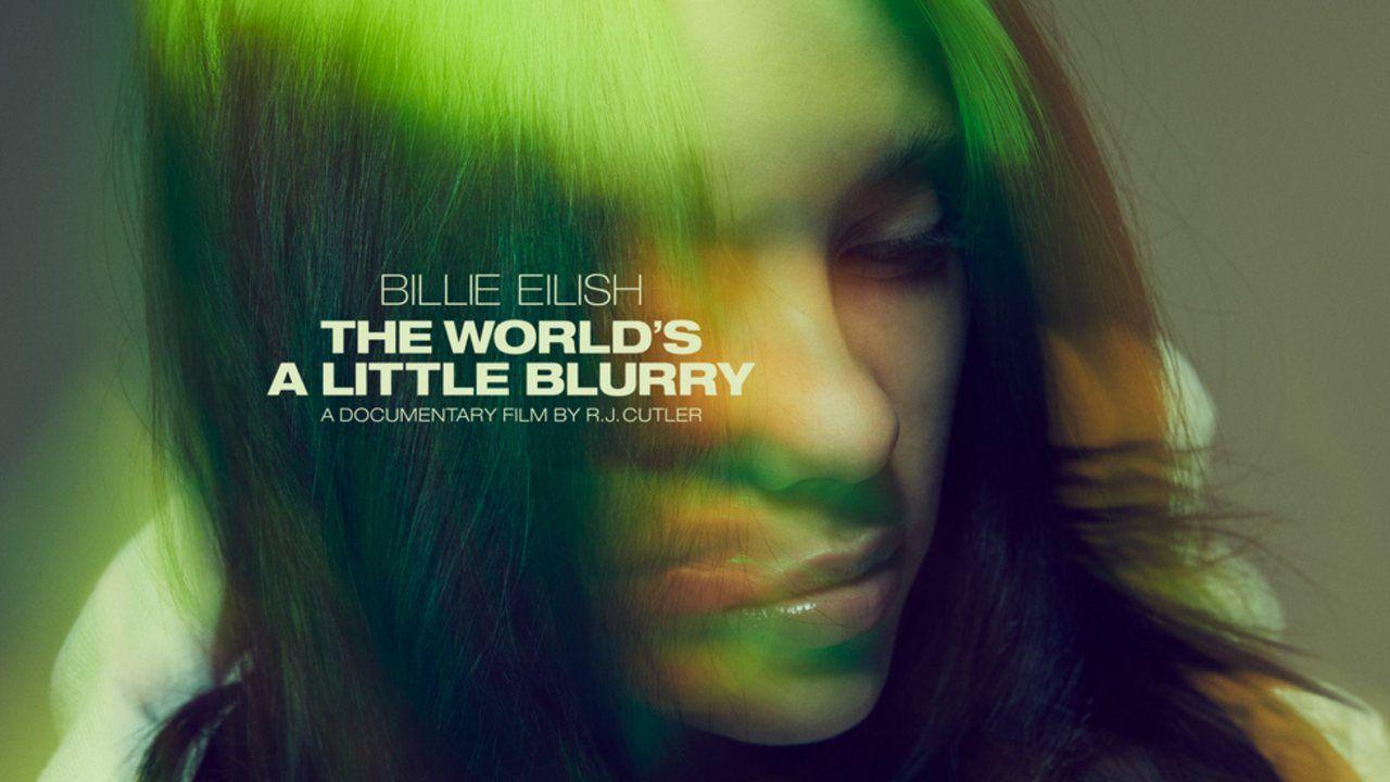 Foto de divulgação do filme Billie Eilish: The World's A Little Blurry no Apple TV Plus