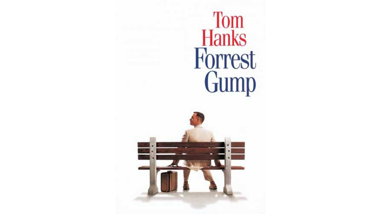 """Foto de divulgação do filme """"Forrest Gump"""""""