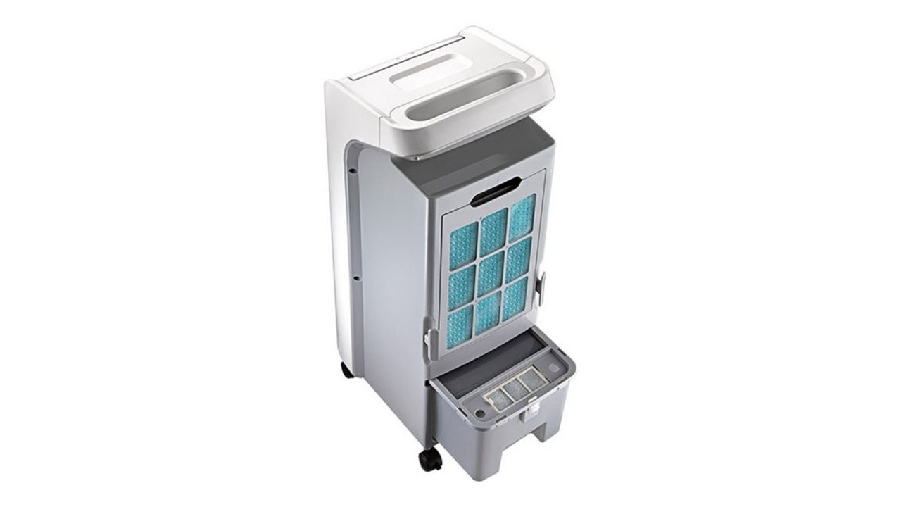 Parte de trás do climatizador de ar Midea AKAF