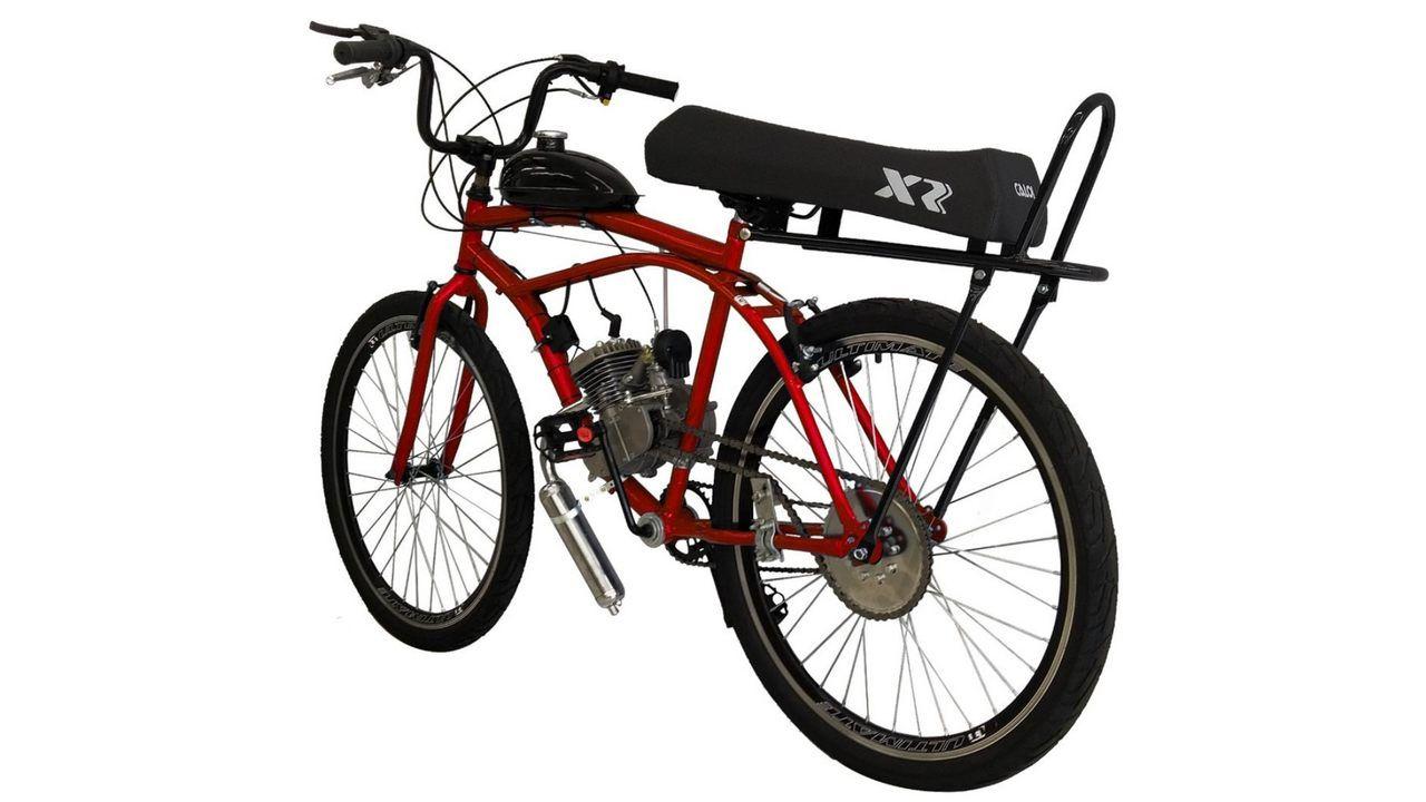 Bicicleta Motorizada Rocket Beach Banco XR (Foto: Reprodução/Redação Zoom)