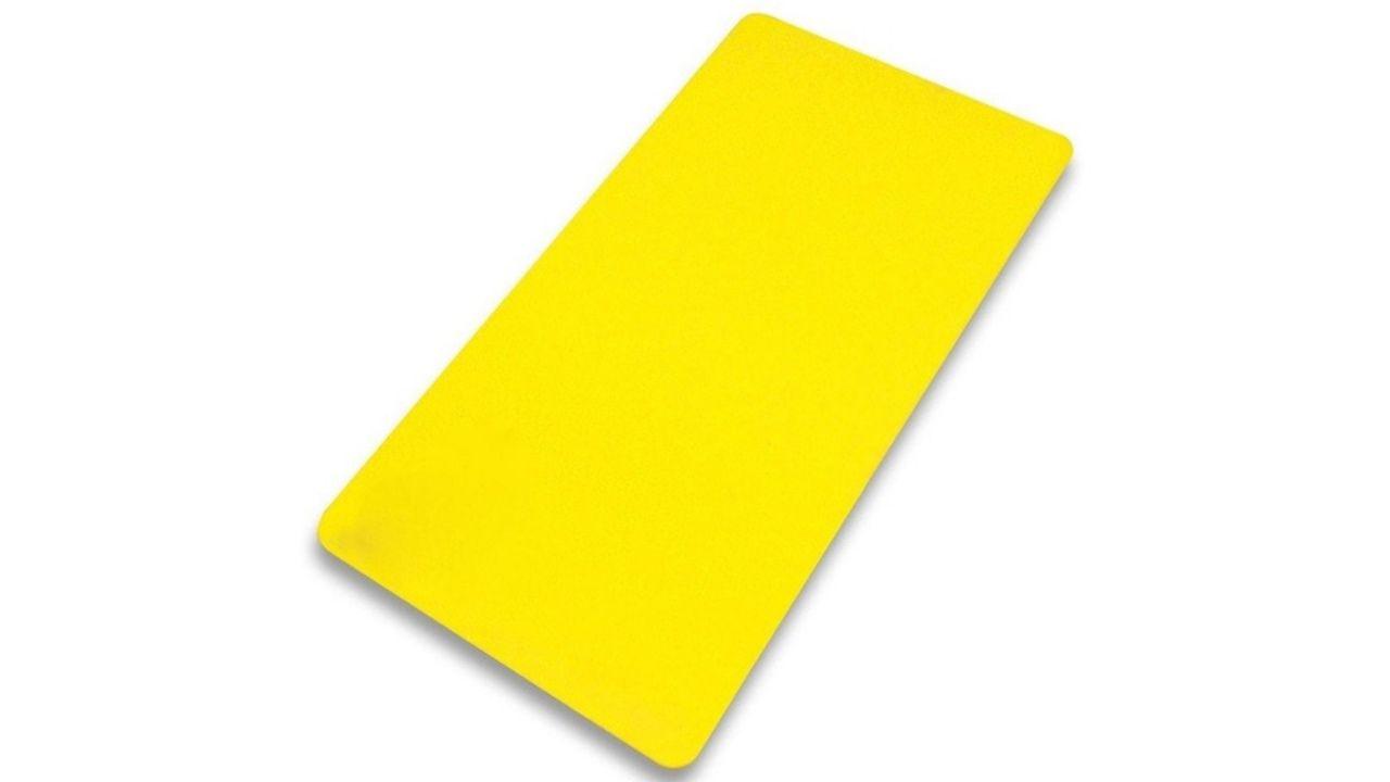 Colchonete Academia Ginástica amarelo
