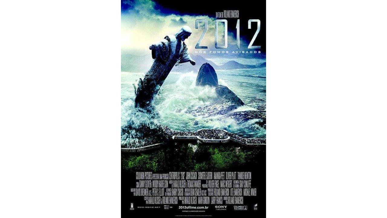 """Cartaz de divulgação do filme """"2012"""""""