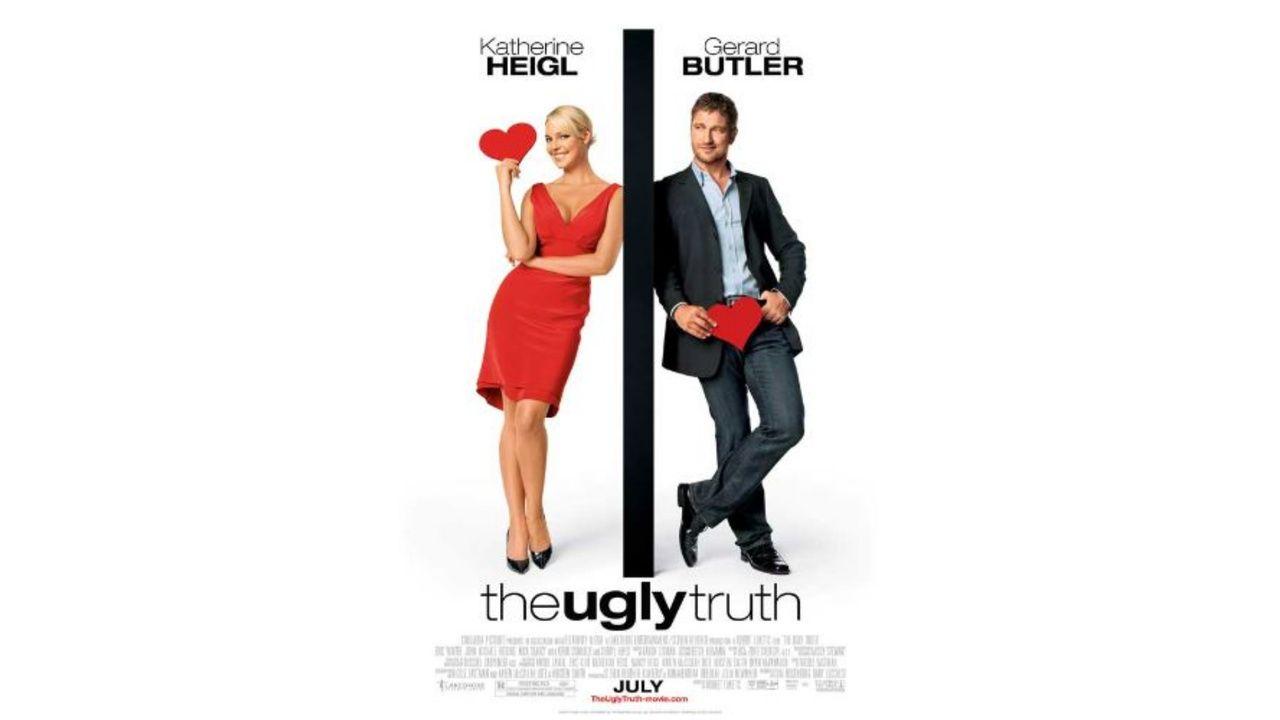 """Capa de divulgação do filme """"The Ugly Truth"""""""