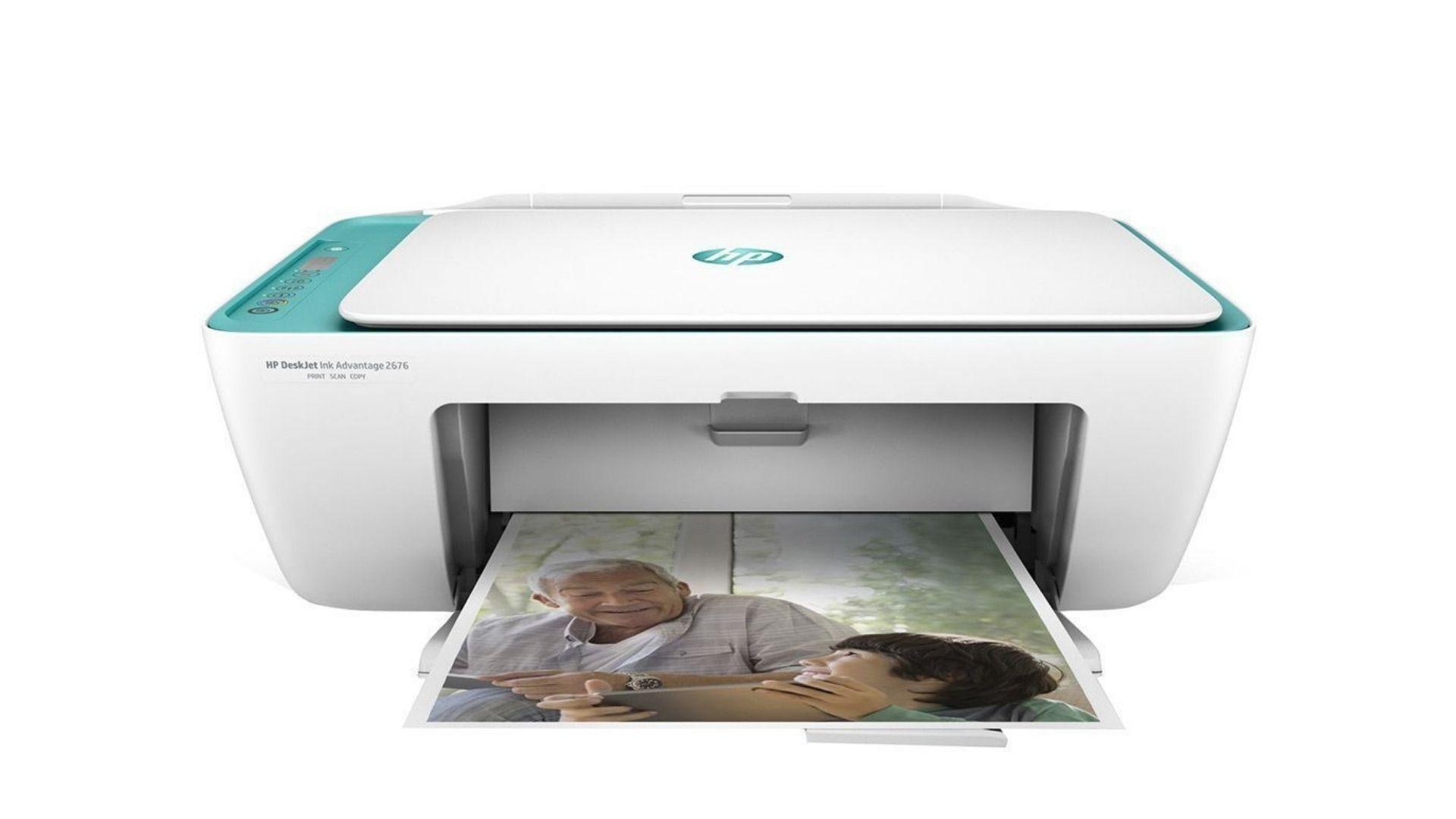 Impressora Multifuncional com foto impressa na saída