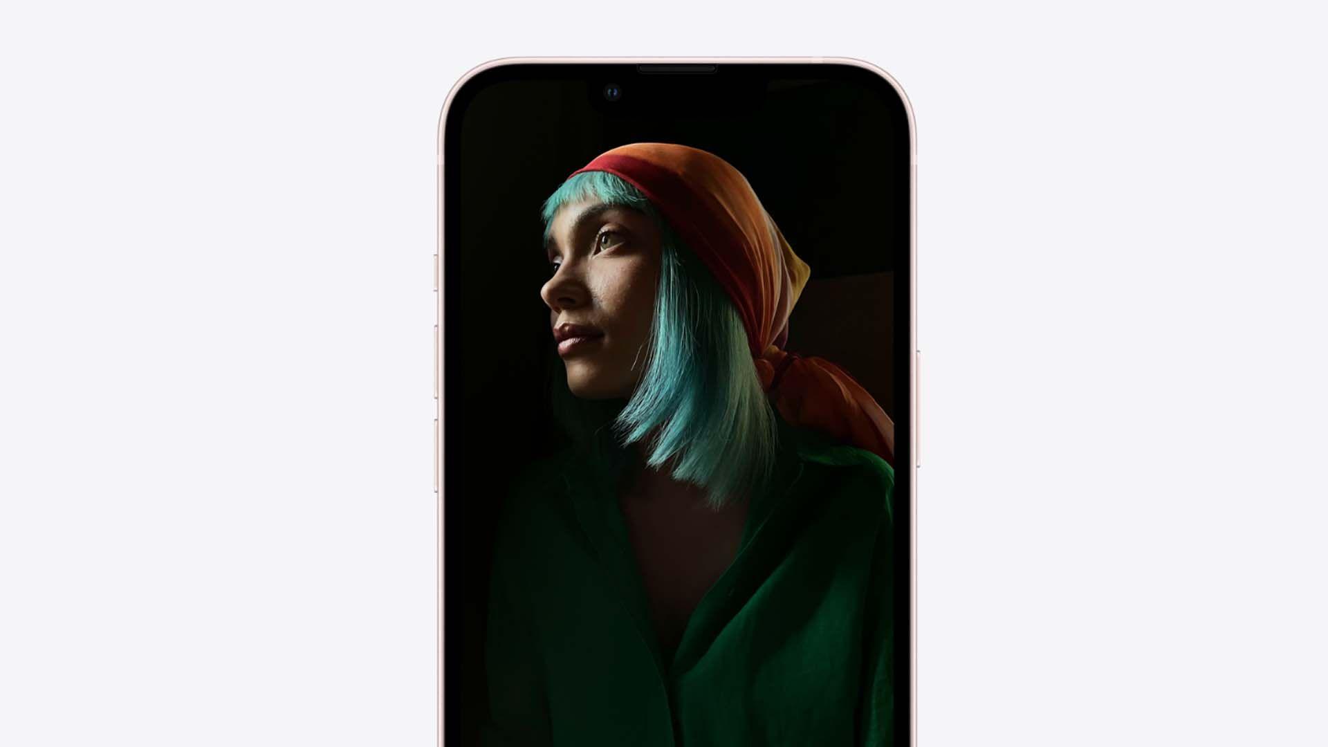 Imagem da tela do iPhone 13 Mini