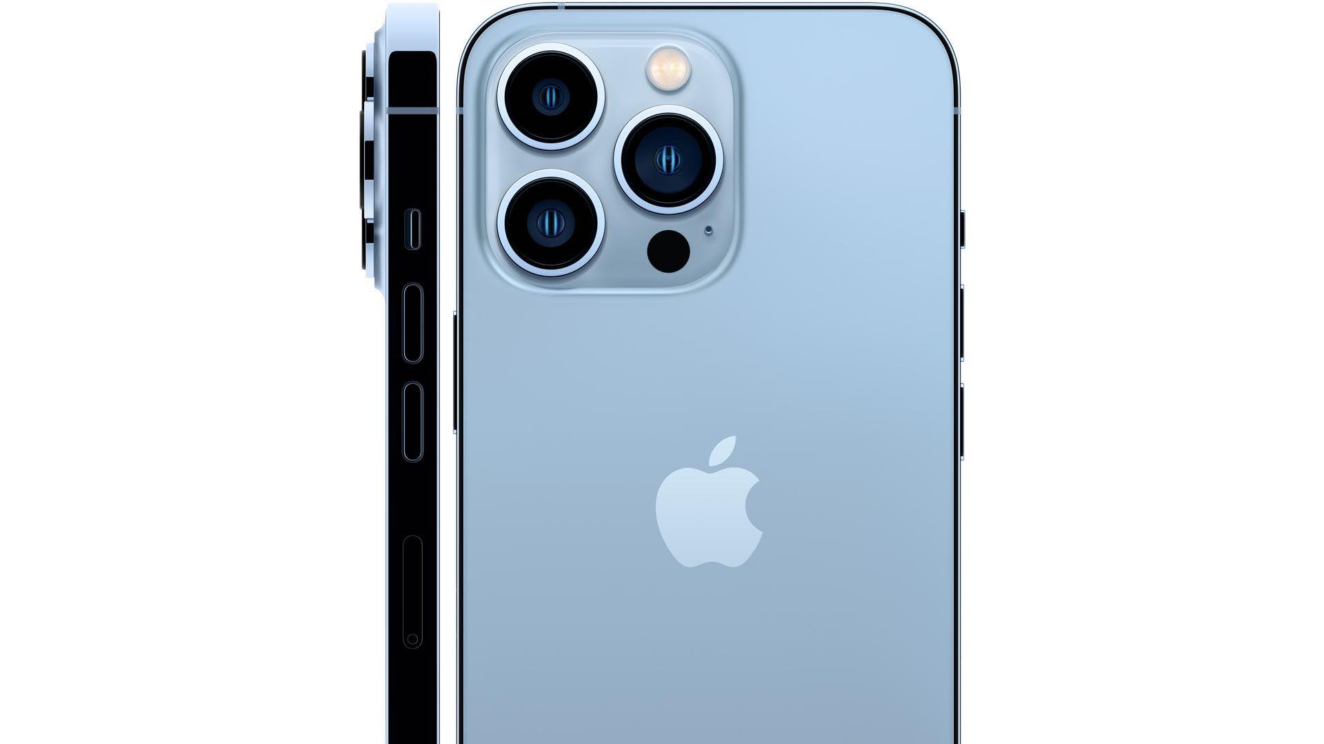 Imagem que mostra o design do iPhone 13 Pro