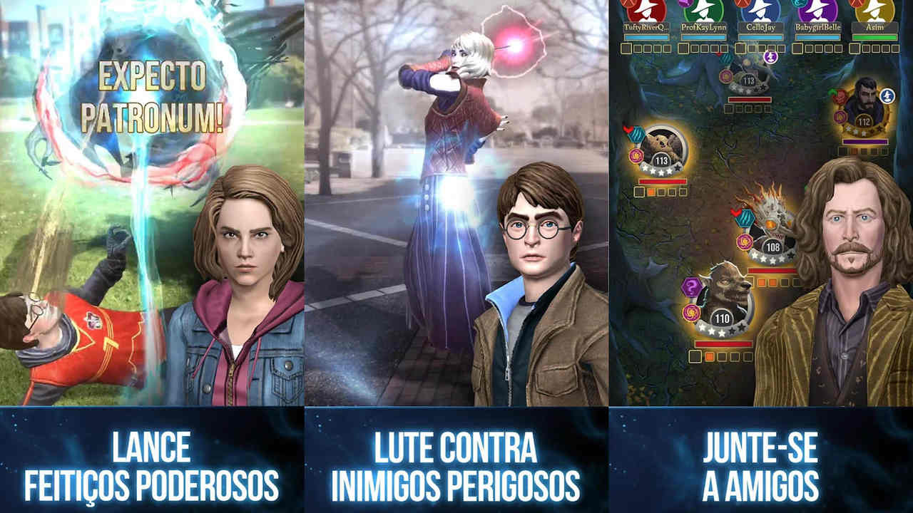 Imagens do jogo Harry Potter: Wizards Unite