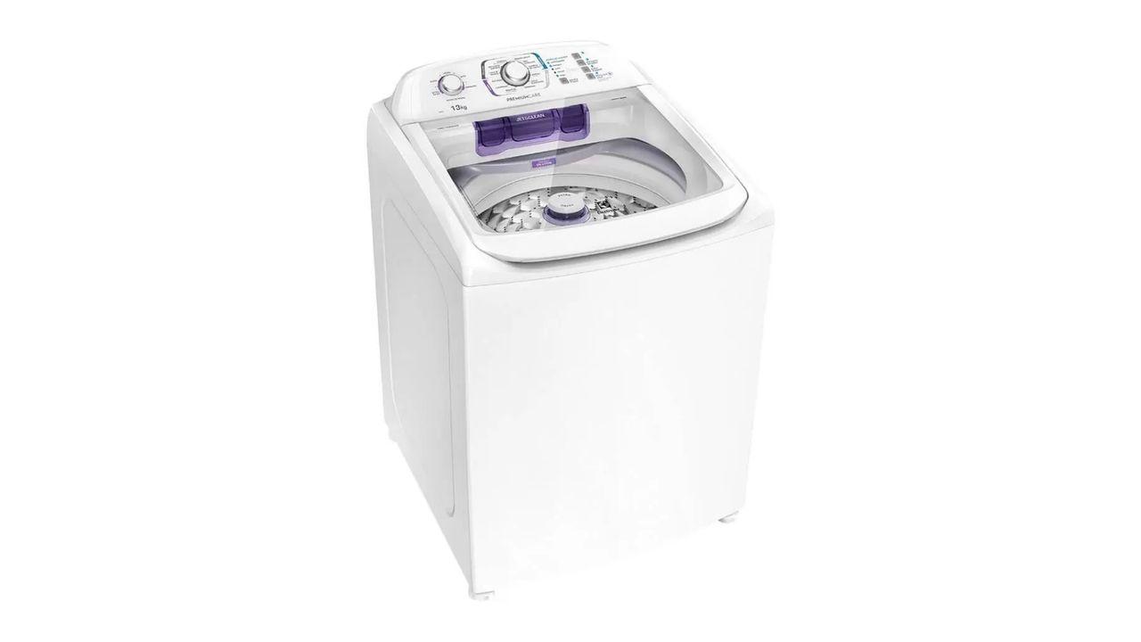 Máquina de lavar Electrolux LAC13 em fundo branco