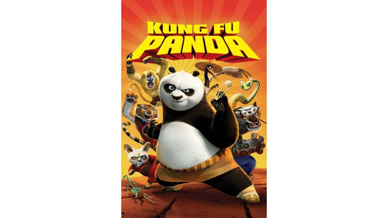 "Capa do filme ""Kung Fu Panda"""