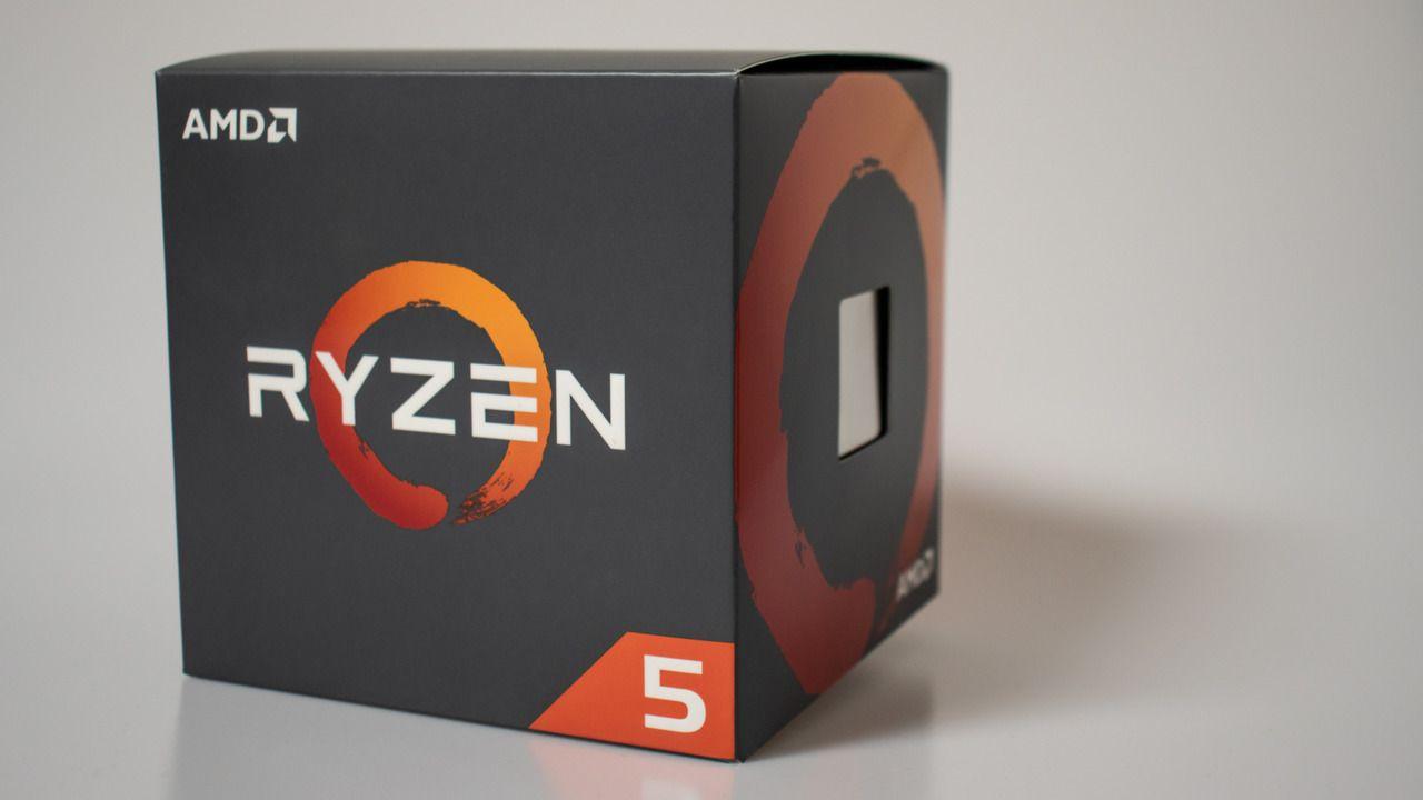Caixa do processador AMD Ryzen 5