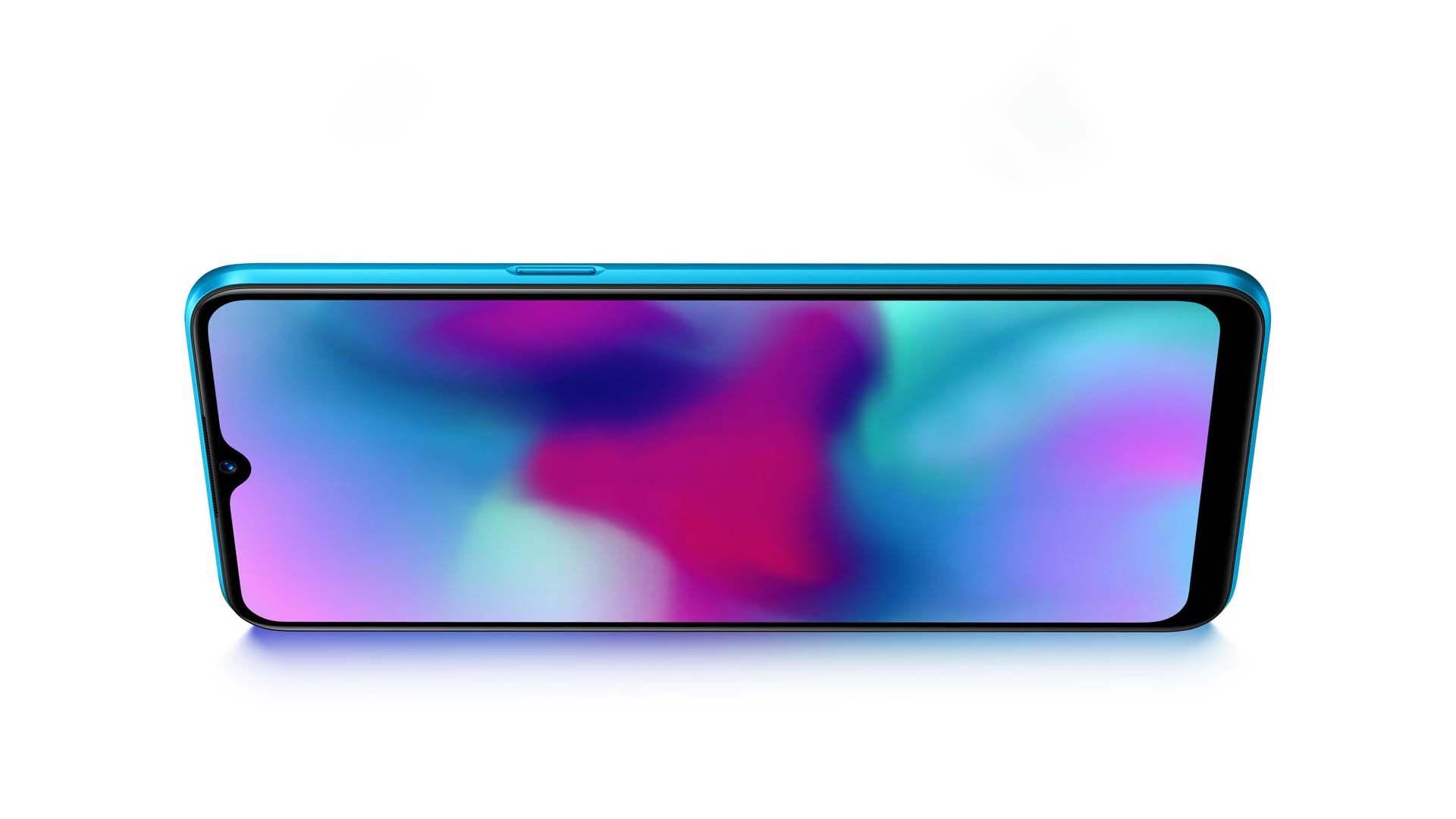 Imagem que mostra a tela do Realme C3.
