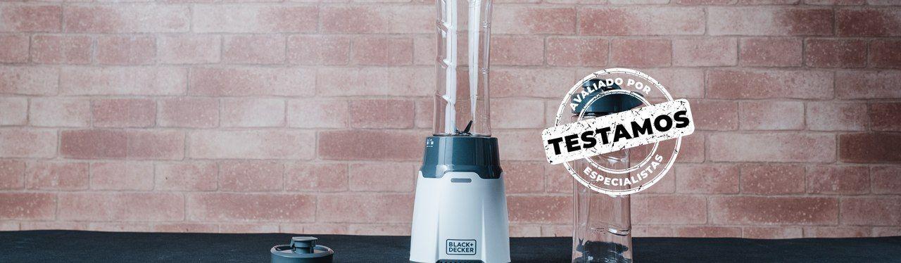 Liquidificador portátil Black & Decker LP300: bom para sucos e vitaminas