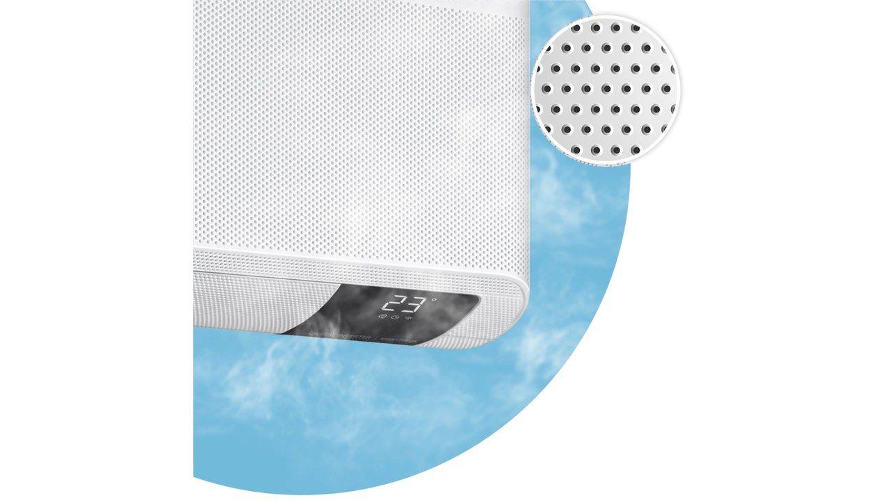 Samsung WindFree demonstrando como funciona a tecnologia livre de vento