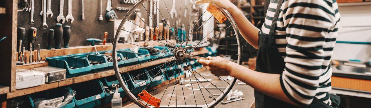 Como regular marcha de bicicleta?