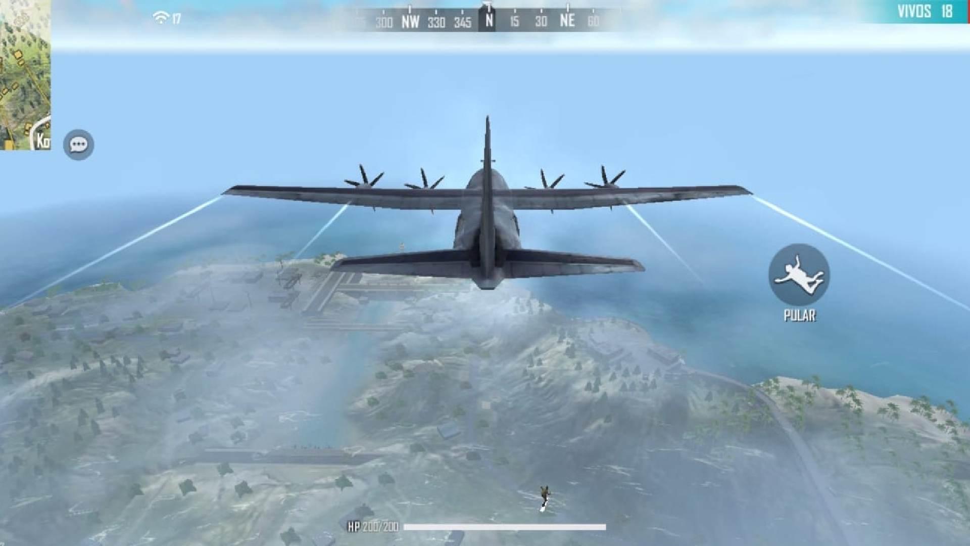 Print mostra jogo no início