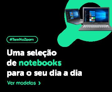 Uma seleção de notebooks para o seu dia a dia