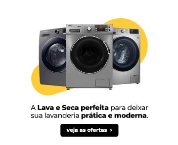 A Lava e Seca perfeita para deixar sua lavanderia prática e moderna