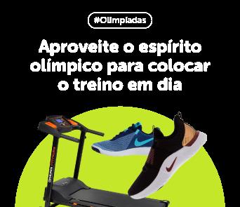 Aproveite o espírito olímpico para colocar o treino em dia
