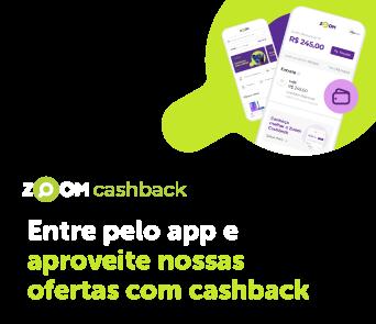 Entre pelo app e aproveite nossas ofertas com cashback