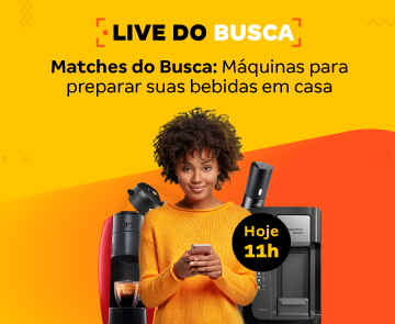 É hoje live Buscapé
